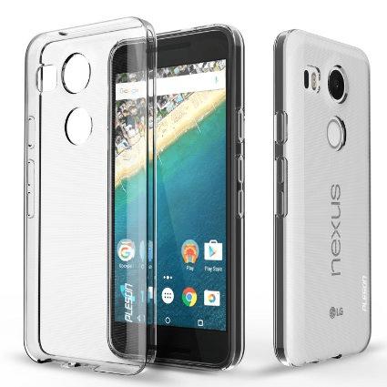 LG Nexus 5X Genomskinligt Mjukt TPU Skal