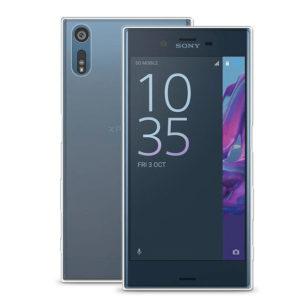 Sony Xperia XZS Transparent Mjuk TPU Skal