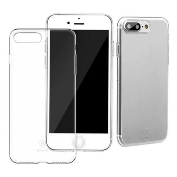 iPhone 8 Plus Genomskinligt Mjukt TPU Skal