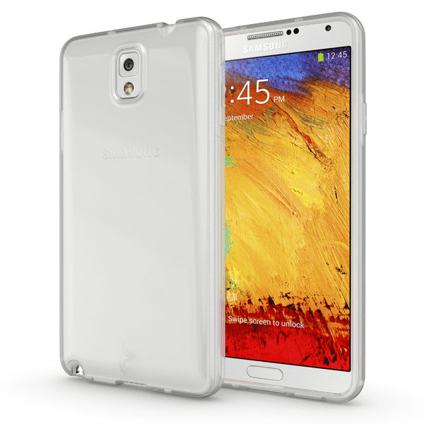 Samsung Galaxy Note 3 Genomskinligt Mjukt TPU Skal