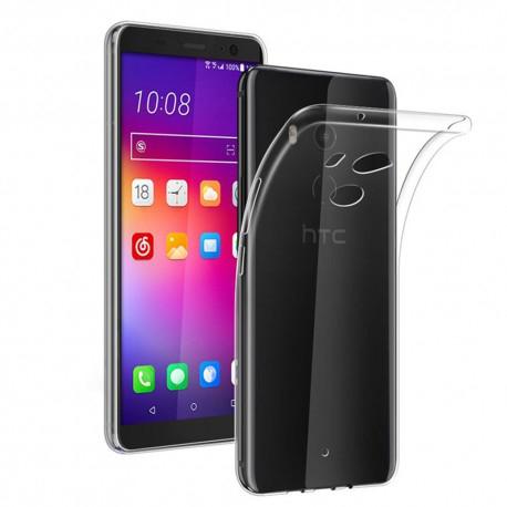 HTC U11 Plus Transparent Mjuk TPU Skal