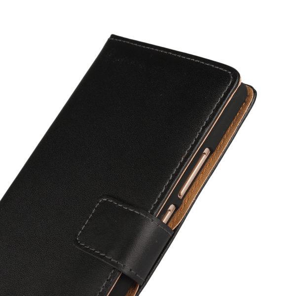 iPhone 6 Plus Läder Plånboksfodral - Svart / Brun