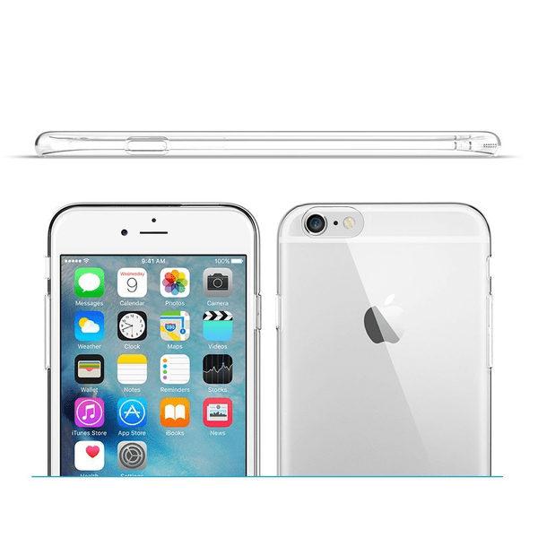iPhone 6S Genomskinlig Mjuk TPU Skal