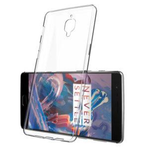OnePlus 3 / 3T Genomskinligt Mjukt TPU Skal