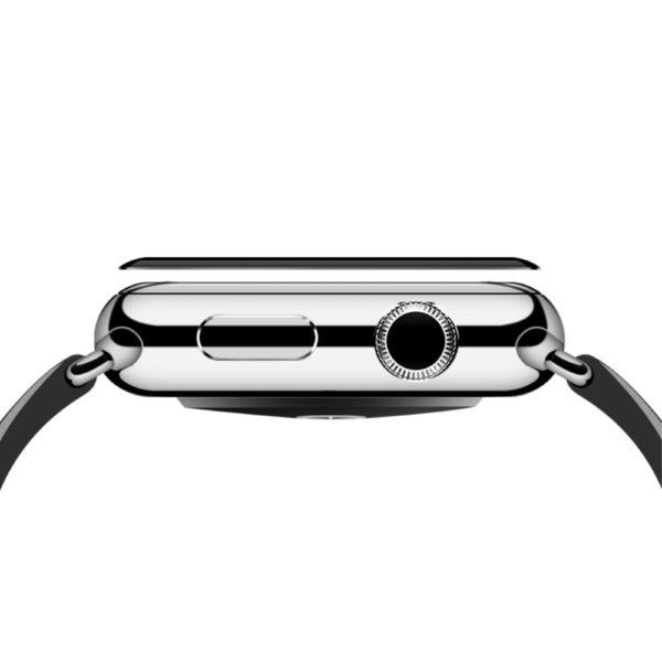 Apple Watch 4 44mm Heltäckande 3D Härdat Glas Skärmskydd 0,3mm