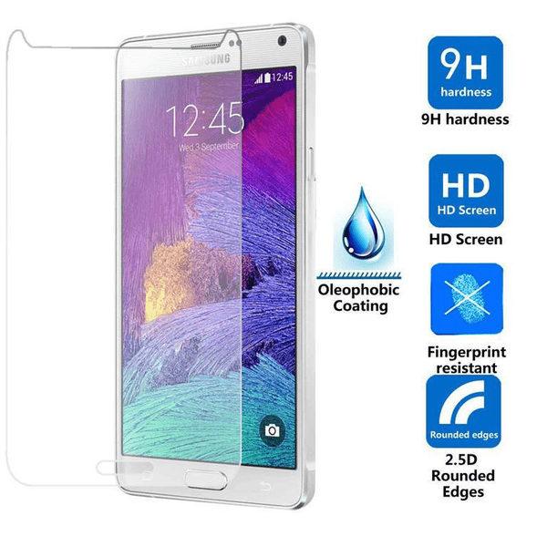 2-Pack Samsung Galaxy Note 4 Härdat Glas Skärmskydd 0,3mm
