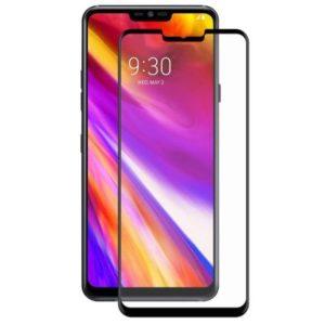 LG G7 ThinQ Heltäckande 3D Härdat Glas Skärmskydd 0,2mm