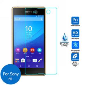 2-Pack Sony Xperia M5 Härdat Glas Skärmskydd 0,3mm