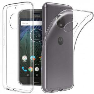 Motorola Moto G5S Transparent Mjuk TPU Skal