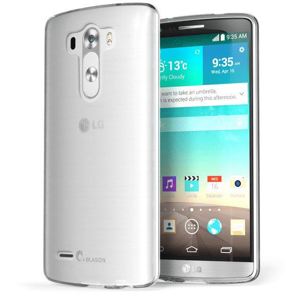 LG G3 Genomskinligt Mjukt TPU Skal