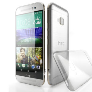 HTC One M9 Genomskinlig Mjuk TPU Skal