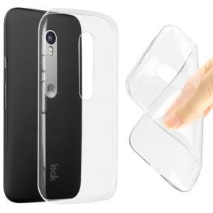Motorola Moto G3 Genomskinlig Mjuk TPU Skal