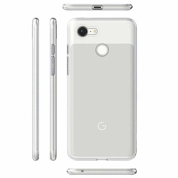 Google Pixel 3 XL Transparent Mjuk TPU Skal