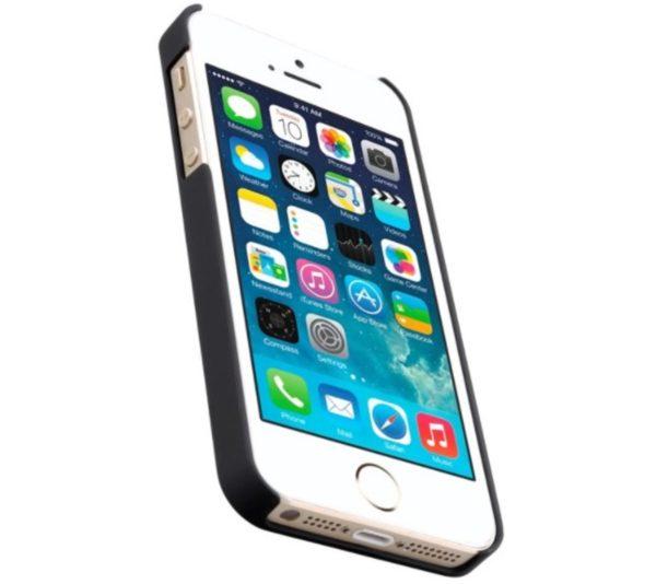 iPhone 5 / 5S / SE Svart Hard Case Skal
