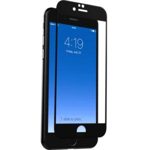 Heltäckande iPhone 8 Härdat Glas Skärmskydd 0,2mm - Svart