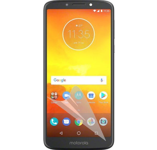 3-Pack Motorola Moto E5 Skärmskydd - Ultra Thin