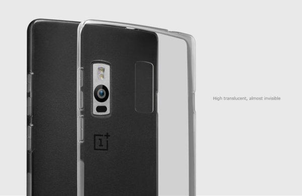OnePlus 2 Genomskinlig Mjuk TPU Skal