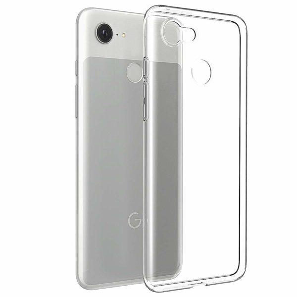 Google Pixel 3 Transparent Mjuk TPU Skal