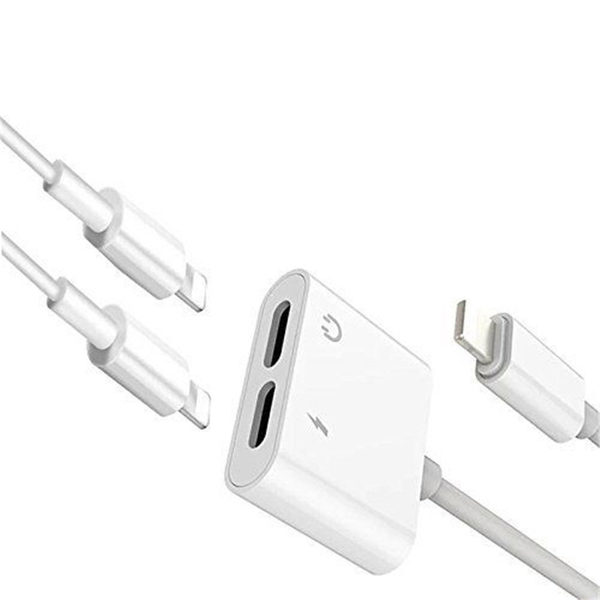 Dual Lightning Adapter for iPhone - 2 in 1