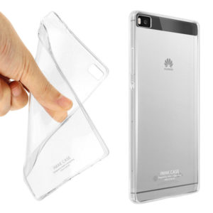 Huawei P8 Genomskinligt Mjukt TPU Skal