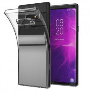 Samsung Note 9 Genomskinligt Mjukt TPU Skal