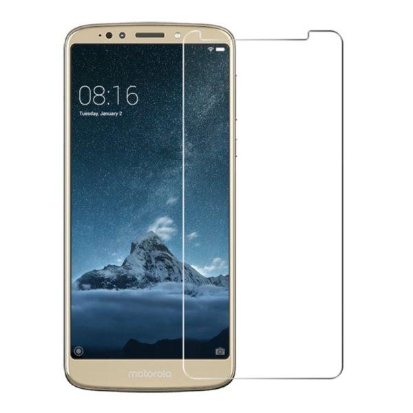 2-Pack Motorola Moto E5 Plus Härdat Glas Skärmskydd 0,3mm