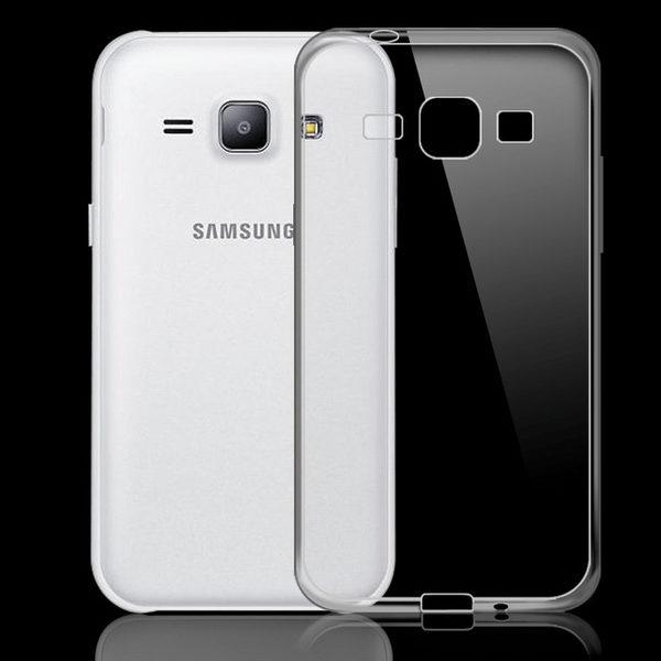 Samsung Galaxy J1 Genomskinligt Mjukt TPU Skal