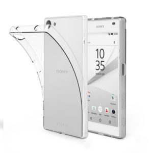Sony Xperia Z5 Compact Genomskinlig Mjuk TPU Skal