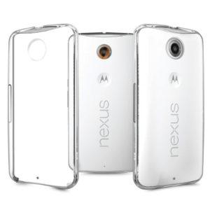 Motorola Nexus 6 Genomskinligt Mjukt TPU Skal
