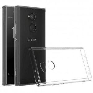 Sony Xperia L2 Transparent Mjuk TPU Skal