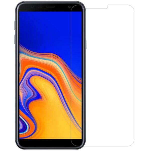 2-Pack Samsung Galaxy J4 Plus Härdat Glas Skärmskydd 0,3mm