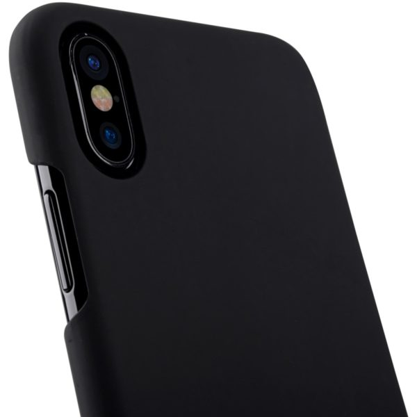 iPhone X Svart Hard Case Skal