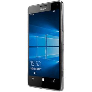 Nokia Lumia 950 XL Genomskinlig Mjuk TPU Skal