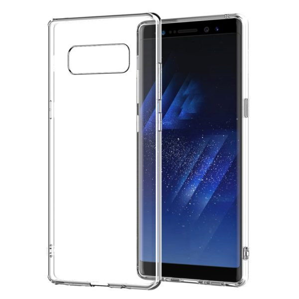 Samsung Galaxy Note 8 Genomskinligt Mjukt TPU Skal