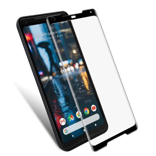 Google Pixel 2 XL Heltäckande 3D Härdat Glas Skärmskydd 0,2mm