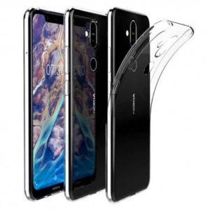 Nokia 8.1 Transparent Mjuk TPU Skal