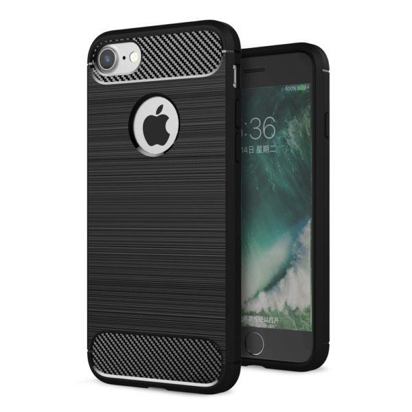 iPhone 8 Anti Shock Carbon Stöttålig Skal