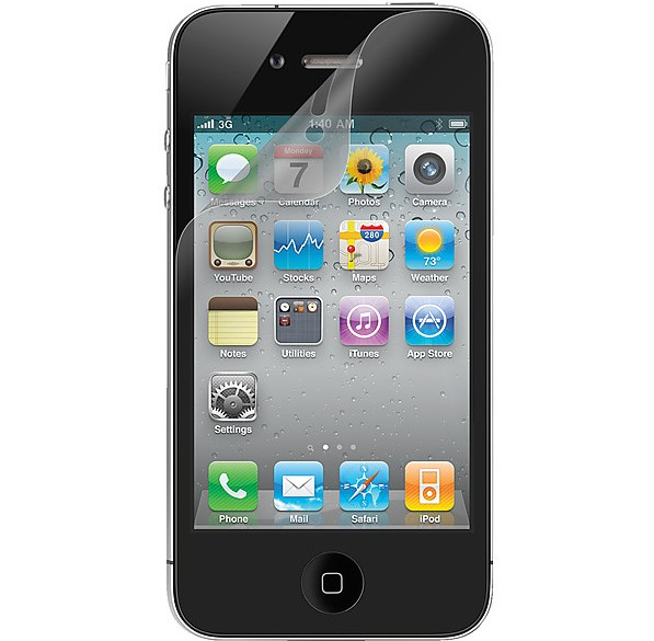 3-Pack iPhone 4/4S Skärmskydd - Ultra Thin
