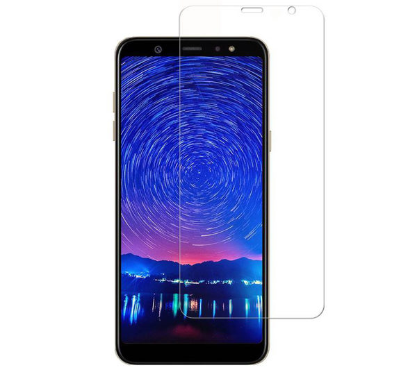 2-Pack Samsung Galaxy A9 2018 Härdat Glas Skärmskydd 0,3mm