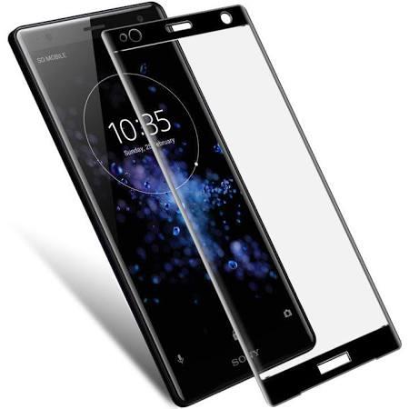 Sony Xperia XZ2 Heltäckande 3D Härdat Glas Skärmskydd 0,2mm