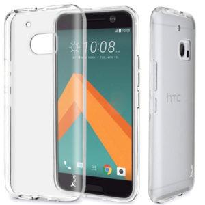 HTC 10 Genomskinlig Mjuk TPU Skal