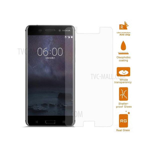 2-Pack Nokia 6 Härdat Glas Skärmskydd 0,3mm