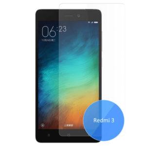 2-Pack Xiaomi Redmi 3 Härdat Glas Skärmskydd 0,3mm