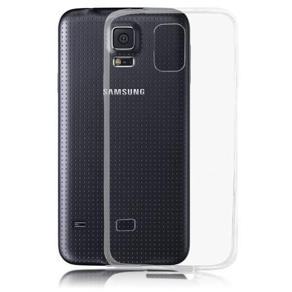 Samsung Galaxy S5 Genomskinligt Mjukt TPU Skal