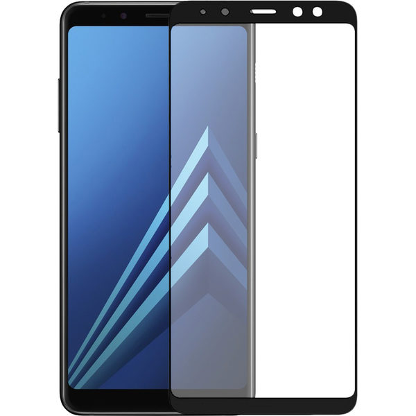 Samsung Galaxy A8 2018 Heltäckande 3D Härdat Glas Skärmskydd 0,2mm