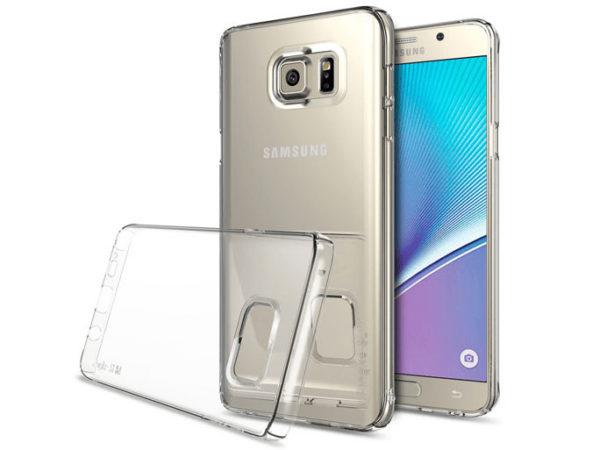 Samsung Galaxy Note 5 Genomskinligt Mjukt TPU Skal