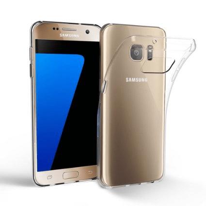 Samsung Galaxy S7 Genomskinlig Mjuk TPU Skal