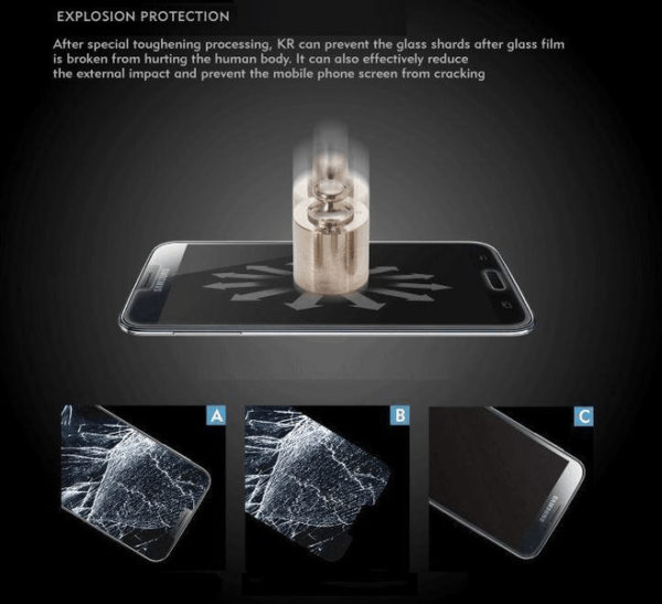 2-Pack ZTE Axon 7 Härdat Glas Skärmskydd 0,3mm