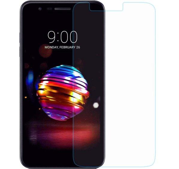 LG K10 2017 Härdat Glas Skärmskydd 0,3mm