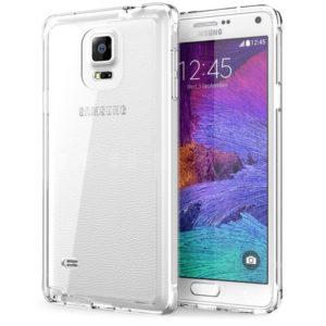 Samsung Galaxy Note 4 Genomskinligt Mjukt TPU Skal